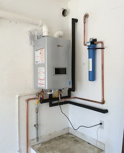 tankless water heater san ramon ca